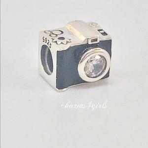Authentic Pandora sentimental snapshots Charm